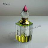 bottiglia di vetro araba dell'olio di cristallo di fragranza 12ml per l'olio del profumo di Oud