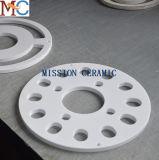 Disco de cerámica refractario Al2O3 de diversa dimensión de una variable
