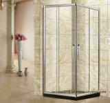 Boîtier de douche en verre trempé clair Chambre avec la certification CE