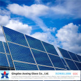 vidrio solar ultra claro Tempered de la AR-Capa de 4m m