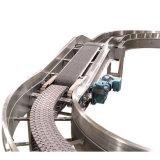 Correia modular do transporte antiderrapagem plano plástico de Cpb do produto comestível para a máquina do transporte
