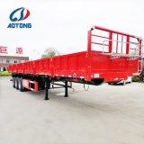 3 Aanhangwagen van de Vrachtwagen van assen Flatbed Semi/de Aanhangwagen van het Nut/de Aanhangwagen van de Lading van de Container