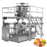 Máquina de relleno del lacre del paquete industrial de Doy de la alta calidad para los gránulos