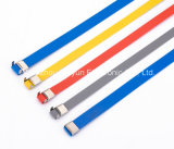 플라스틱 Coated 또는 Covered Stainless Steel Cable Ties, Straps Ss304 316
