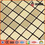 Matière composite en aluminium matérielle balayée par enduit nano du PE PVDF d'Ideabond