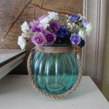 Diamant en de Ronde Vaas van het Flessenglas van het Glas Voor Decoratie