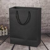 中国のハンドルが付いている卸し売りカスタマイズされた印刷された贅沢な方法昇進のペーパーショッピング・バッグ