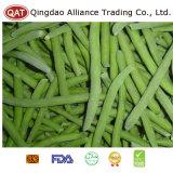 Feijões verdes congelados alta qualidade