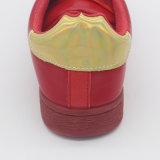 注入上部PUの女性の偶然靴の通気性の靴