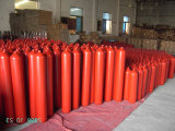 中国の工場からの空のヘリウムのガスポンプタンク40L