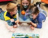 3D personnalisé de la personnalité de Réalité Augmentée de fantaisie (AR) livre pour enfants au début de l'apprentissage