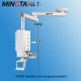 Doble brazo colgante de la cirugía médica motorizado