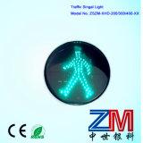 도로 안전을%s 튼튼한 횡단보도 녹색 번쩍이는 신호등
