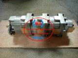 일본 Komatsu는 로더 Wa300 로더 펌프 기계 Komatsu 모형 (705-55-34090.705-55-34110) 부속을%s 유압 기어 펌프 Ass'y를 선회한다