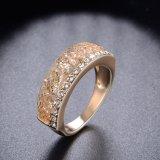 De elegante Ring van de Juwelen van het Kristal van de Toebehoren van de Manier van het Kostuum van de Legering