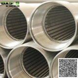 """China 6 5/8"""" de aço inoxidável 304L de água e o tubo do filtro de tela para tratamento de água"""