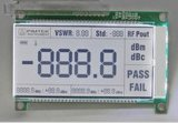 Htn Monochrome LCD 7 Segment Digital LCD Display Module