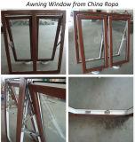 Finestra appesa superiore della tenda di UPVC con vetro isolato