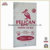 Прокатанный мешок сплетенный полипропиленом для пшеничной муки, риса
