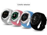 Y1 지능적인 시계 둥근 Wrisbrand 인조 인간 사용 2g SIM 카드 지적인 이동 전화 Smartwatch