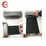 Rouleau de métal en tissu nylon Shell couvre pour machine CNC