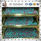 0.68インチ卸し売り多彩なPaintballのペンキの球、Paintballのトレーニングの球
