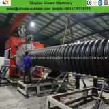 Пластиковые ребра Spirally Enhanced воды HDPE трубы завод