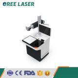 Macchina sicura e certa R-T della marcatura del laser della fibra della Tabella dello scrittorio di Oreelaser