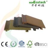 Revêtement composé en plastique en bois du panneau de mur WPC
