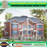 Villa moderna prefabbricata di lusso del contenitore della struttura d'acciaio/Camera modulare prefabbricata