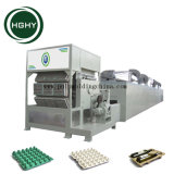 Hghy bandeja de huevos de reciclaje de residuos de papel cartón de huevos la máquina de moldeo