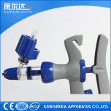 Steel di plastica Continuous Syringe 1ml