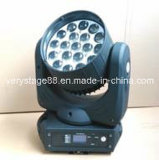 12W 19部分のLED Moving Head Zoom Lighting