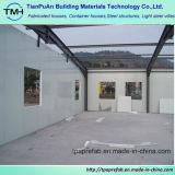 Опытная конструкция здания стальной структуры