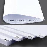 Scheda rigida bianca della gomma piuma del PVC di Celuka, strato del PVC, materiale di stampa