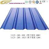 Placa de acero de alta resistencia de materiales de construcción de techos de acero placas de material