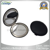 Unbelegter Chrone Kreis-Form-Metallvertrags-Spiegel