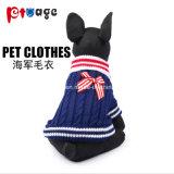 Vestiti dell'animale domestico di stile di inverno del pannello esterno del cane del pannello esterno di festa del cucciolo