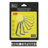 Cr-v 8PCS Hex Schlüssel-gesetzter Hexagon-Schlüssel-Schlüssel eingestellt (TSP0601)