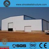 プレハブの鉄骨構造の倉庫(TRD-002)