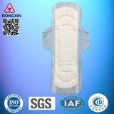 Garniture sanitaire de femmes menstruelles féminines remplaçables de coton