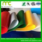 Bandera suave/flexible/transparente/de los colores del PVC