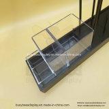 Heißer Verkäufe MDF-Würze-Speicher-Kostenzähler-Ausstellungsstand mit 3 kleinen Acrylkästen