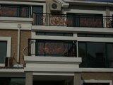 Balustade semplice/rete fissa per il balcone della villa
