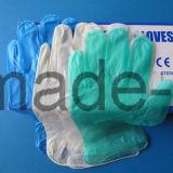 Luvas de vinil descartáveis para a indústria alimentar e de propósito geral