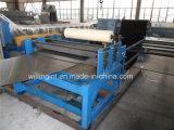 Automatische aufschlitzende Stahlplatten-metallschneidende Maschine