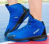 Nueva moda Athletic hombres calzados zapatos zapatillas de baloncesto de Skate (818)