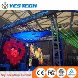 Visualización de LED multi del uso de la etapa mágica de Yestech