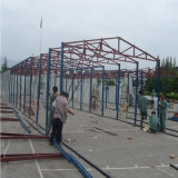 Struttura d'acciaio della costruzione del gruppo di lavoro d'acciaio prefabbricato della fabbrica