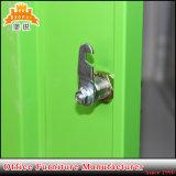 Buntes 15 Tür-Fach-Stab-Metallschrank-Stahl-Schließfach